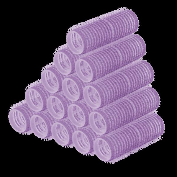PARSA Beauty Haftwickler Lockenwickler Klettwickler 21mm lila 15 Stück