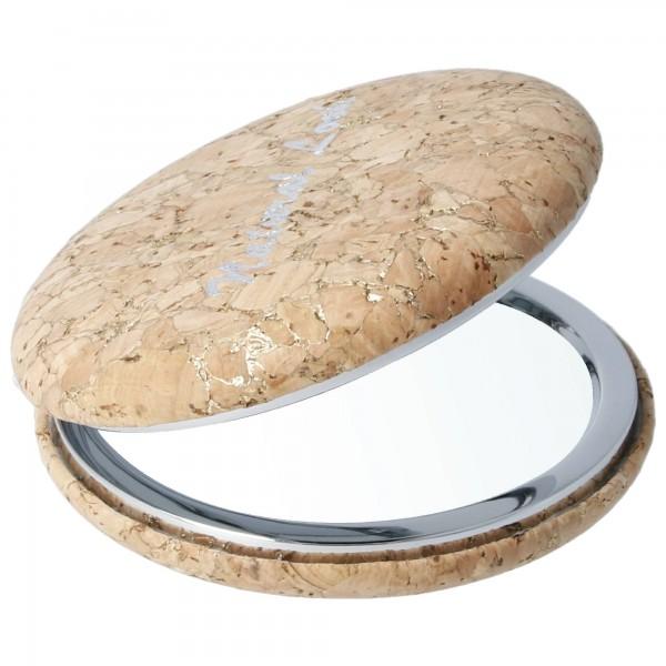 PARSA Beauty Taschenklappspiegel aus Kork