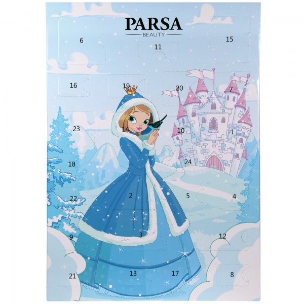 Haarschmuck / Haar-Accessoires Adventskalender 2021 Für Mädchen Von PARSA Beauty