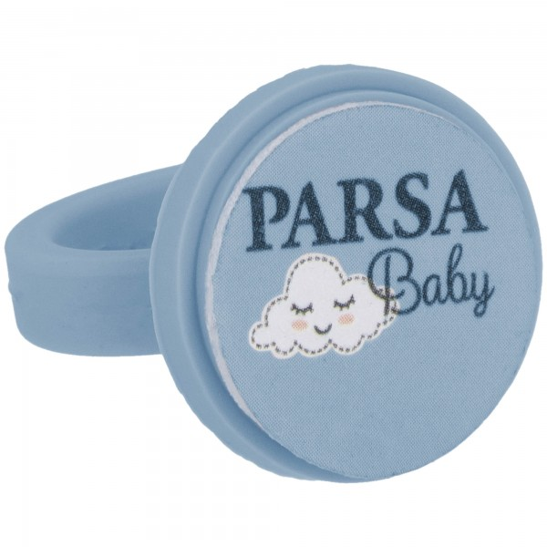 PARSA Baby Nagelfeilring Nagelpflege für Babys mit 7 Feilpads / Einwegfeilen