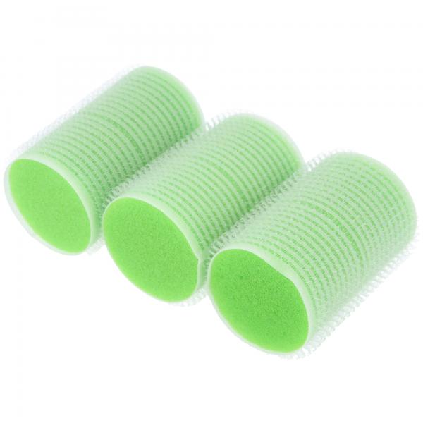 PARSA Beauty Softlockenwickler selbsthaftende Lockenwickler 36mm grün, 3 Stück